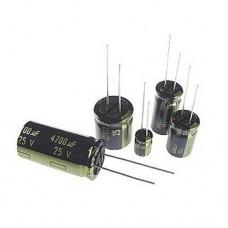 Конденсатор 1000uF 6.3V Low ESR -40...+105°C электролитический