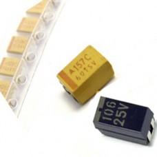 10uF 25V 10% D-case Tantalum VISHAY