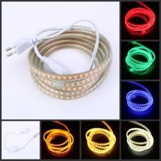 Лента светодиодная Multi-Color 6 цветов 48RGBWYP2835-6W/m силикон IP65 220VAC