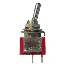 Тумблер MTS-102 ON-OFF 2pin SPST 3A, 250VAC