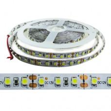 Светодиодная лента AVT-600CW3528-12V белый 120led 9000-12000K 12VDC 9.6 W/m 120°, IP20 8mm ширина