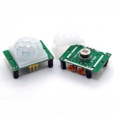 Модуль инфракрасный датчик движения HC-SR501 4.5-20V 140° 3-7m