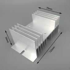 Радиатор 120x70x50mm для реле SSR 40A, 60A, 80A