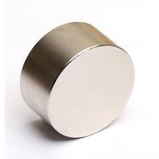 Магнит NdFeB N42 OD45x25mm вес 300 гр, сила 70 кг, шайба