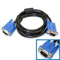 Шнур VGA штекер HDB15pin- штекер HDB15pin, 1.0m, с фильтром