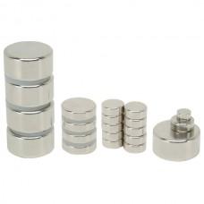 Магнит неодимовый NdFeB N35 вес 0.3 гр, сила 0.65 кг, диск