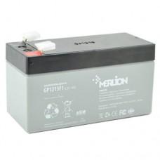 MERLION GP1213F1 (12V1.3Ah/20hr) аккумулятор