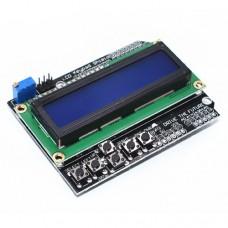 Индикатор LCD 1602 с клавиатурой. Шилд для Arduino MEGA2560, MEGA1280, UNO R3