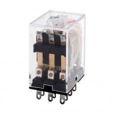 Реле MY3N-J 24VDC 5A 3PDT 3 группы на переключение
