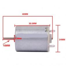 Электродвигатель постоянного тока 6V, 5000 об/мин 42г для детских машинок