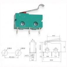 Микропереключатель KW4-4-3 5(3)A 250VAC 100000 циклов