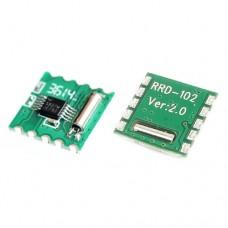 FM радио модуль RDA5807M RRD-102 V2.0 частот от 50 МГц до 115 МГц 1.8-3.3VDC 21mA
