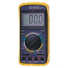 DT9207A мультиметр цифровой DC: 2mA-20A, AC: 20mA-20A