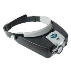 Бинокуляры MA-016 LED подсветка, увеличение х1.8/2.6/5.8