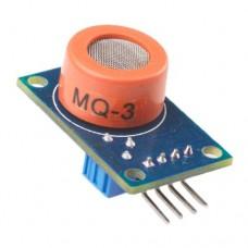 Модуль MQ-3 датчик этанола (алкоголя) аналоговый для Arduino