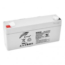 RITAR RT632 AGM (6V3.2Ah/20hr) аккумулятор