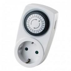 Таймер механический Horoz Electric суточный Timer-1 3500Вт 30 минут-24 часа 1080010001