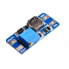 Импульсный модуль питания DC-DC на MT3608 повышающий напряжение с 2.0 до 28V 2A