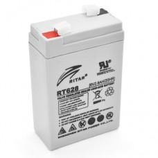RITAR RT628 AGM (6V2.8Ah/20hr) аккумулятор