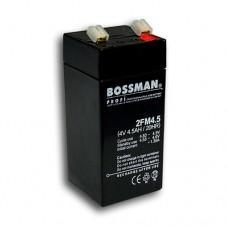 BOSSMAN 2FM4.5 (4V4.5hr) аккумулятор