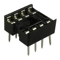 Панелька для микросхемы SCS-8 DIP 8pin, шаг 2.54 mm (соединительный элемент)