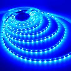 Cветодиодная лента S3528-120-IP33-B, синий, 12V, 9.6W,  140°, IP20