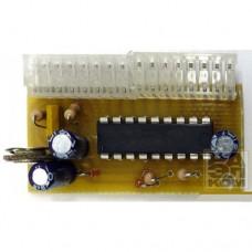 Плата LM3914 (15, 16) 10-ти светодиодный индикатор уровня сигнала
