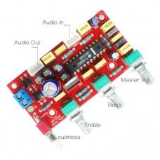 Радиоконструктор WM-026 электроный стерео темброблок, предусилитель на LM1036