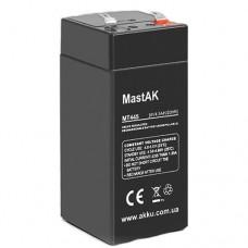 MastAK MT445 (4V4.5Ah/20hr) аккумулятор