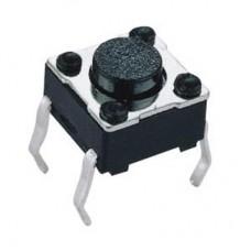 Кнопка тактовая TS-1102 4pin DC 12V 50mA 100000 циклов H5