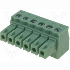 15EDGK-3.5-06P-14-00AH терминал блок, шаг 3.5mm, 6pin, 8A 300V