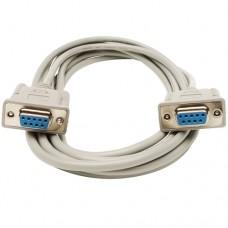 Кабель RS-232 0-модемный (DB9F) для связи ресивера с компьютером, 5.0m
