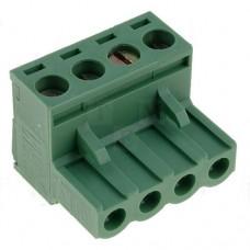 KLS2-EDK-500-04P терминал блок, шаг 5mm, 4pin, 15A 300V