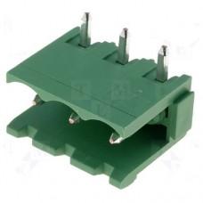 2EDGR-5.0-03P-14 терминал блок, шаг 5mm, 3pin, 15A 300V