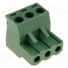 KLS2-EDK-500-03P-4 терминал блок, шаг 5.0mm, 3pin, 15A 300V