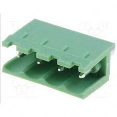 2EDGV-5.0-04P-14 терминал блок, шаг 5mm, 4pin, 15A 300V