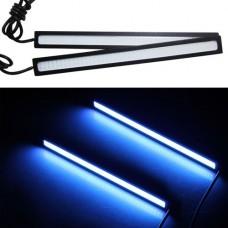 Светодиодные линейки - универсальная подсветка для фар 12VDC 12W IP67 цвет синий