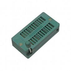 Панелька ZIF-DIP SCZP-24 с нулевым усилием шаг 2.54 mm для микросхемы