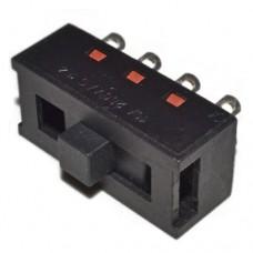 Переключатель ползунковый  XC-2310 8A, 250VAC, 8 pin, 2 группы контактов, 3 положения