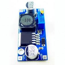 Плата в сборе повышающий конвертер напряжения постоянного тока наXL6009E1 (LM2577) 4A Input: DC3-35V 2.5A Output: DC4-35V 4A регулировка выходного напряжения