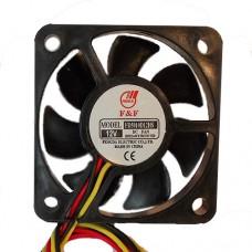 Вентилятор FD5010D12HS 12V, 0.1А, 1.2W 6300 RPM±10% 33.5dB(A) подшипник скольжения