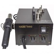 Handskit 850 паяльная станция с термофеном компрессорная 270W 100°C~500°C