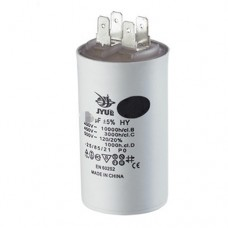 Конденсатор пусковой 2uF 450V +/-5% 50/60Hz -25...+85°C EN60252 клеммы