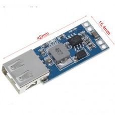Импульсный модуль питания DC-DC понижающий Input: DC8-28 Output: DC5.0V 3A (стабильный 2A) USB