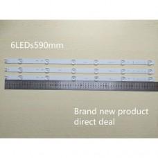 Светодиодная подсветка для телевизора LG на 32 дюйма (6 шт светодиодов на одной полосе) A-type 6916L-2223A TV SUNG WEI 55VO E74739 94V-0