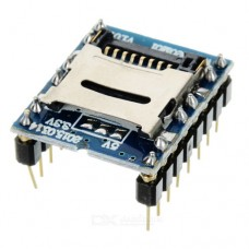 Модуль звуковой WTV020-SD для  воспроизведения звука с Micro-SD