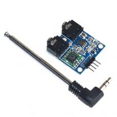 Модуль радио FM стерео на TEA5767 76-108MHz для Arduino