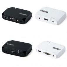 Адаптер переходник HDTV 3 в 1 USB на HDMI AUX AV TV
