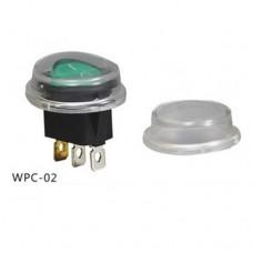 Аксессуар для переключателя тип Rocker WPC-02 круглый (силиконовый кожух) IP65