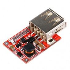 Импульсный модуль питания BOOST повышающий напряжение с 2.0-5V до 5.0-5.2V 1-1.5A